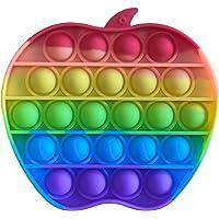 IMAGO 1x Push Pop Pop Bubble Pop IT Push in Regenbogen Farbe zur Ablenkung bei Stress & Nervosität für Kinder und…