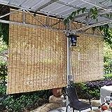 Solagua 14 Medidas de estores de bambú Cortina de Madera ...