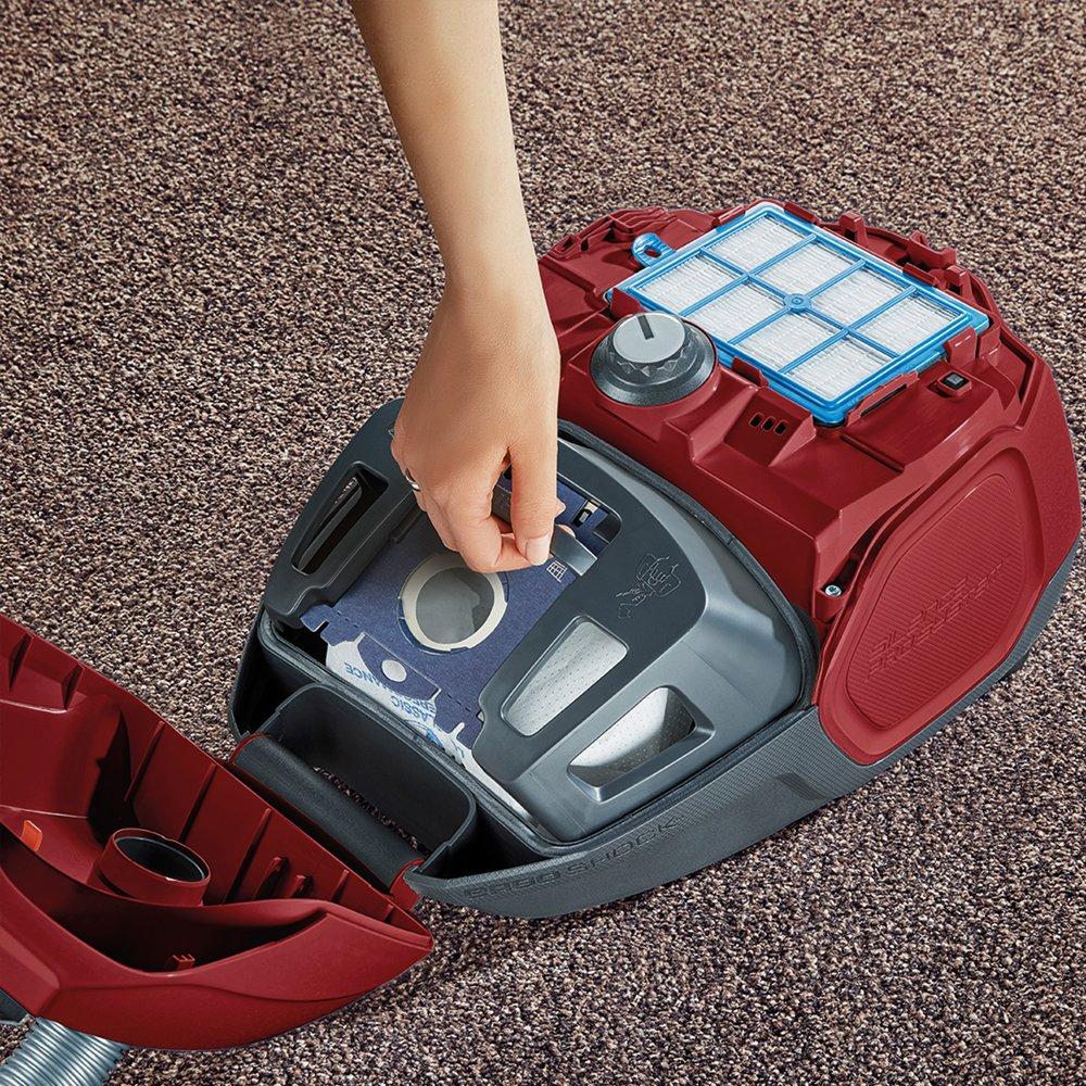 AEG VX7-2-CRAK Staubsauger mit Beutel (Ideal für Haustierbesitzer, nur 70 db(A), 360° Softräder, inkl. Zusatzdüsen…