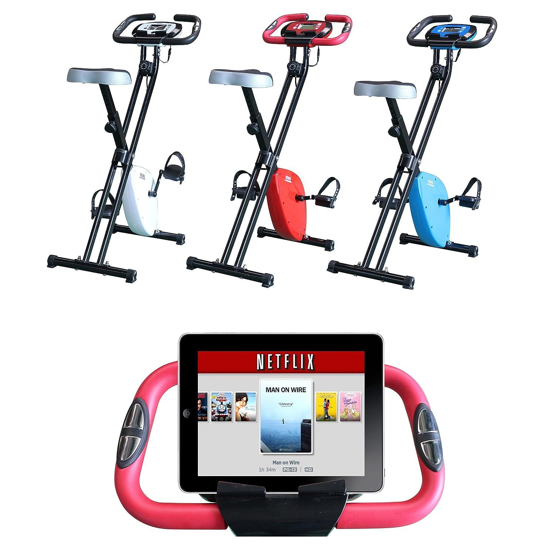 Vivo C Foldable Magnetic Exercise X Bike For Cardio Fitness