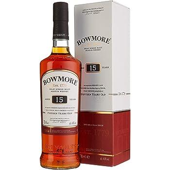 Bowmore Islay Single Malt Scotch Whisky 15 Jahre (1 x 0.7 l)