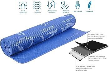Strauss Yoga Mat (Yogasana)