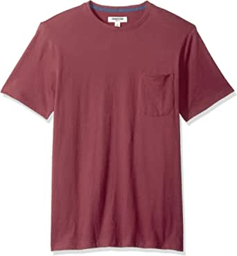 Goodthreads Men's Short-sleeve Sueded Jersey Crewneck Pocket T-shirt