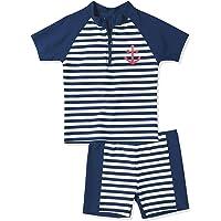 Playshoes Badeanzug Zweiteiler Schwimmbekleidung UV Schutz-Martime Costume da Bagno Bambino