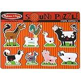 Melissa & Doug 726 Farm Animals Sound Puzzle