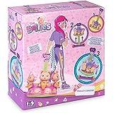 The Bellies - Trolley Coaster, Accesorio para los Bellies y Mini Bellies, para cuidarles y transportarles, llevarles a Todas