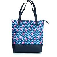 Mammon Women's Multi-colored Tote Hand bag
