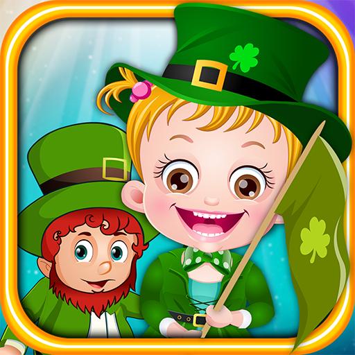 Baby Hazel St Patricks Day (St Patricks Baby)