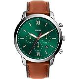 Fossil Neutra Chrono Analog Green Dial Men's Watch-FS5735