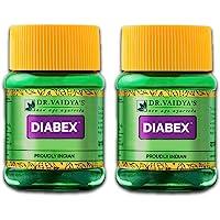 Dr. Vaidya's Diabex Pills Ayurvedic Pills For Blood Sugar Control, 30 Pills Each (Pack of 2)