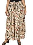 COTTON BREEZE Women's Printed Rayon Skirt