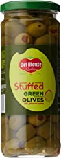 Del Monte Green Olives Stuffed with Pimiento, 450g