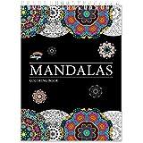 Livre de Coloriage Adultes Mandalas Anti-Stress: le Premier Cahier de Coloriage Adulte à Spirale et Papier Artiste sans Bavur