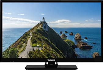 Telefunken XF22E101 56 cm (22 Zoll) Fernseher (Full HD, Triple Tuner) Schwarz