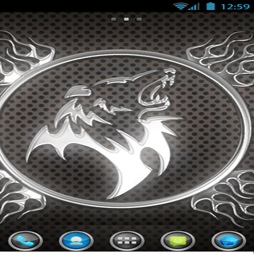 LION HD Theme (Psp Chrome)