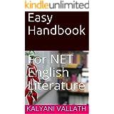 Easy Handbook: For NET English Literature
