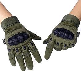 Unigear Taktische Handschuhe Sommerhandschuhen fürs Motorrad Handschuhe Army Gloves Sporthandschuhe geeignet für Motorräder Skifahren, Militär, Airsoft