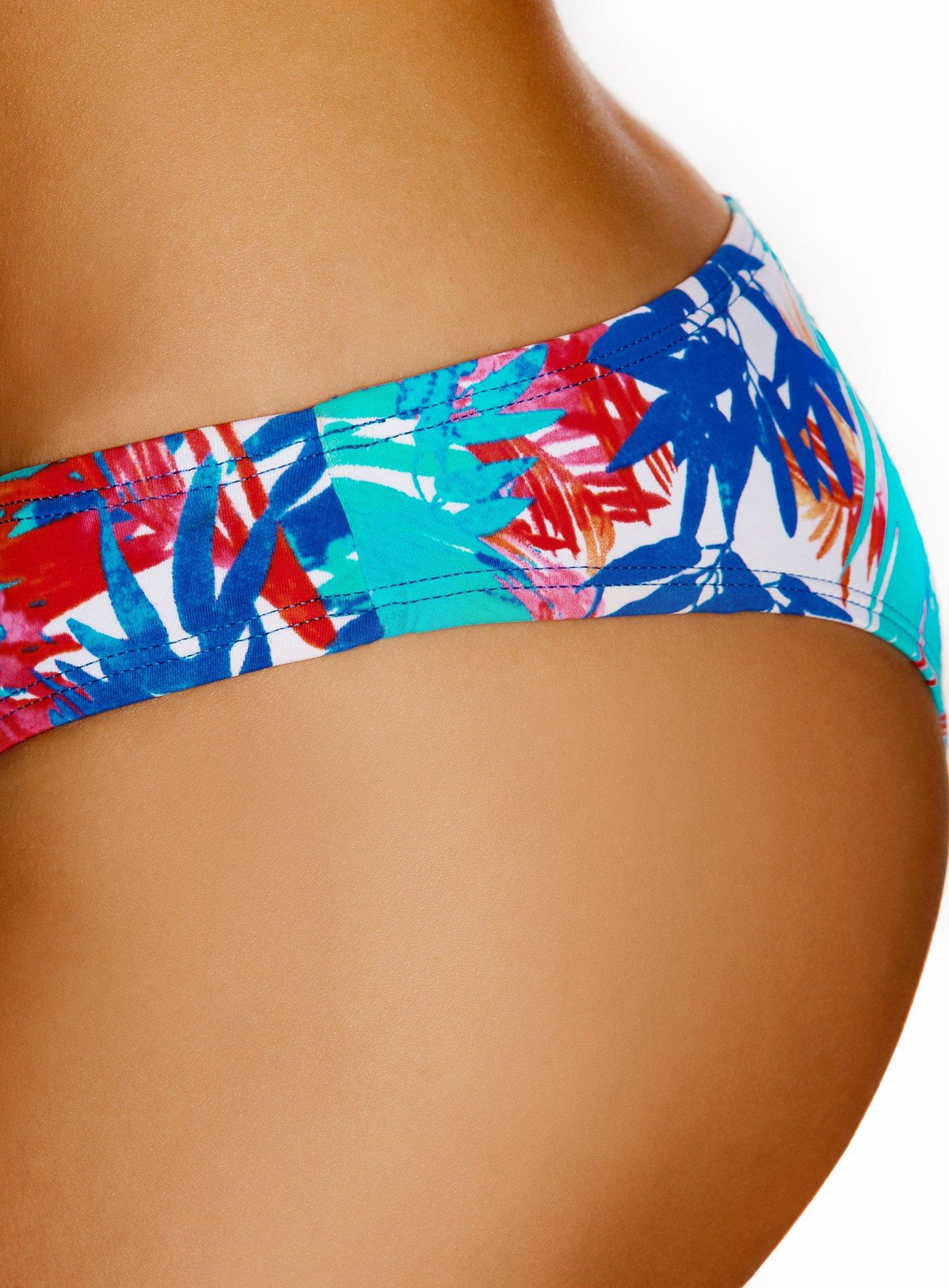 oodji Ultra Donna Bikini Slip Stampa Estiva 4 spesavip