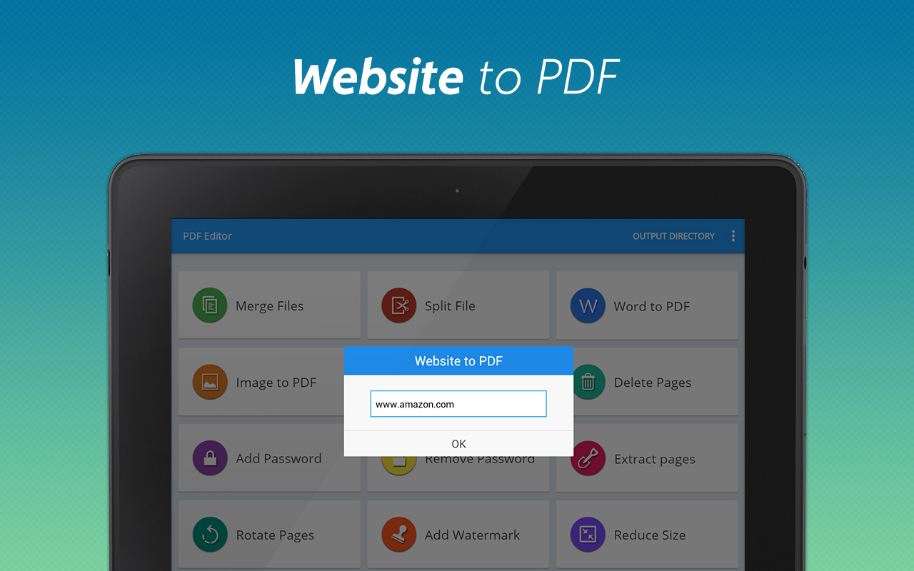Merge app pdf