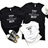 Personalised family matching birthday t-shirt with name/Mom of the birthday boy, dad of the birthday boy, birthday boy…