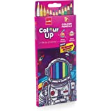 Cello ColourUp Colour Pencil Set -Pack of 12, Bright and Strong Pencil colours, Non toxic colouring range, Safe colours for c