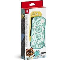 Pochette de Transport - Edition Animal Crossing New Horizons/Protection d'Ecran pour Nintendo Switch Lite