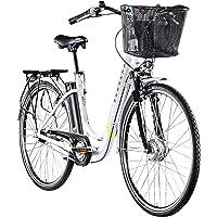Zündapp Ebike Z517 28 Zoll E Bike Damen Elektrofahrrad mit Rücktrittbremse Fahrrad Elektro Pedelec Hollandrad Citybike…