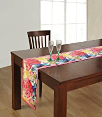 Table Runner Digitally Printed Reversible Polyester -13x72 Inch