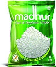 Madhur Pure and Hygienic Sugar Bag, 1kg