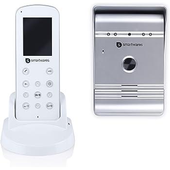 Smartwares VD36W Portier Vidéo sans fil Blanc