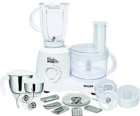 (CERTIFIED REFURBISHED) Inalsa Wonder Maxie Plus V2 700-Watt Food Processor (White)