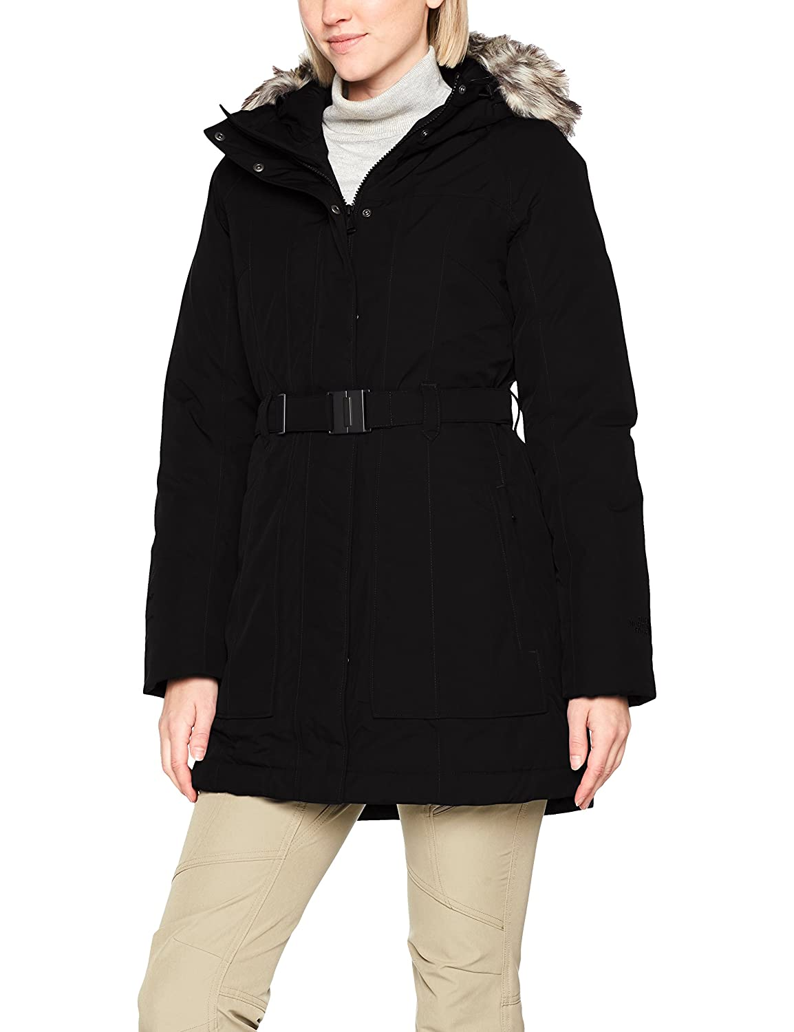 North face brooklyn parka black