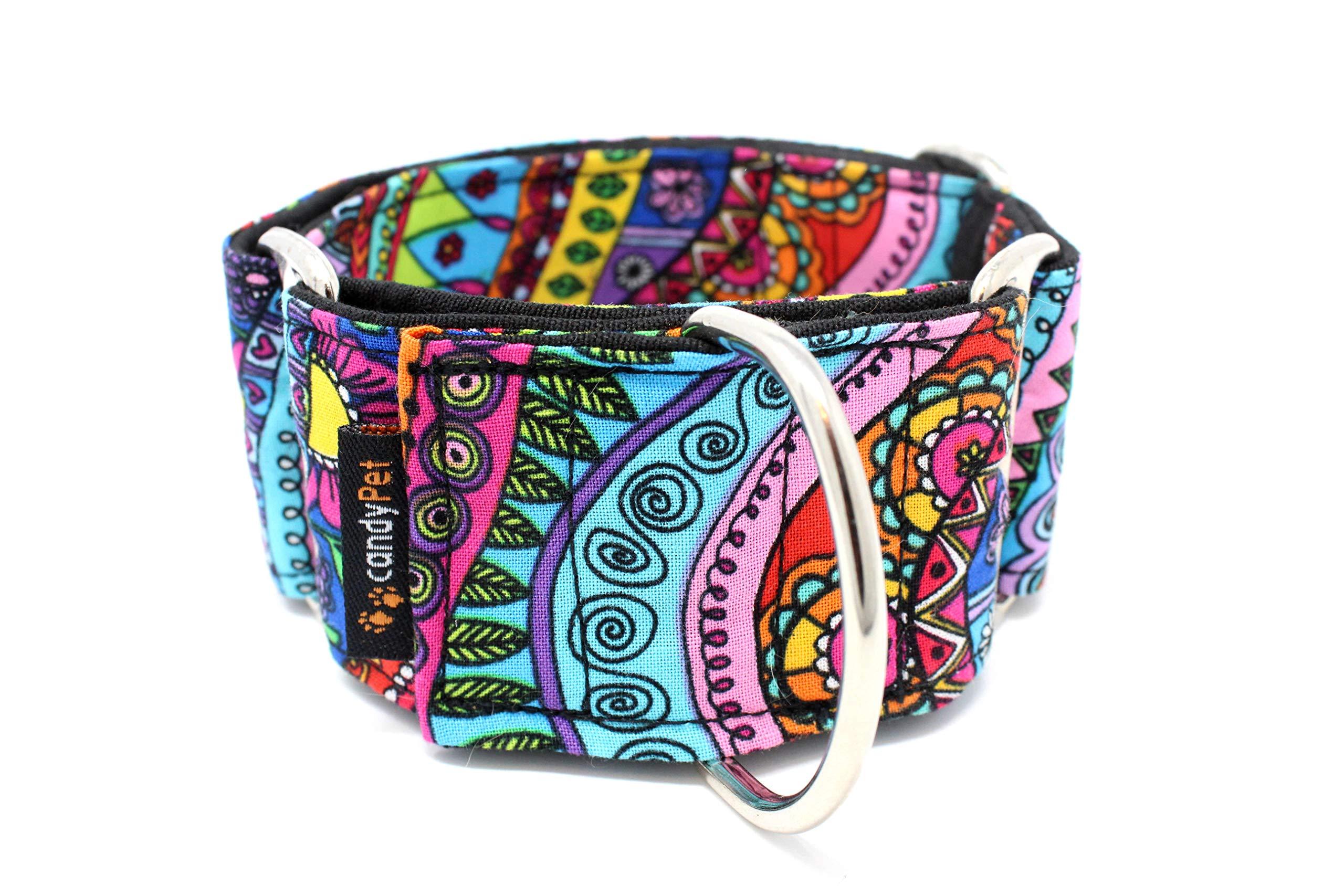 candyPet Collar Martingale Para Perros – Modelo Fantasia, S