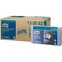 Tork 130082 Papier d'essuyage industriel Premium, compatible avec le système W4 / 3 plis - 32,4cm x 38,5cm - 5 x 100…
