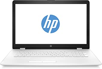 HP 1UQ36EA#ABD 17-bs014ng (17,3 Zoll / HD+ SVA) Laptop (Intel Celeron N3060, 8 GB RAM, 1 TB HDD, Intel HD Grafik, Windows 10 Home 64) weiss