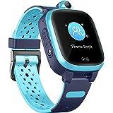 4G Smart Horloge voor kinderen - GPS Smartwatch met waterdichte real-time positie WIFI Vedio oproep bericht stappenteller Geo