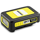 Kärcher Battery Power 18/25, 18 V, 2,5 Ah (energieverbruik 45 Wh, real-time weergave, accu, lithium-ion-accu, extreem robuust