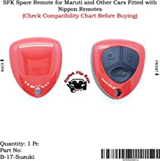 Spare Remote for Maruti and Other Cars Fitted with Nippon Remotes (Check Compatibility Chart Before Buying)