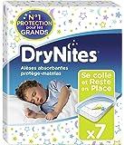 Drynites Bed Mats Paquet de 7 alèses Lot de 4