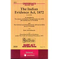 The Indian Evidence Act, 1872 Bare Act with Short Notes
