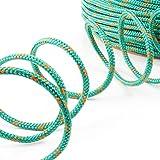10m POLYPROPYLENSEIL 10mm GRÜN Polypropylen Seil Tauwerk PP Flechtleine Textilseil Reepschnur Leine Schnur Festmacher Rope Kunststoffseil Polyseil geflochten
