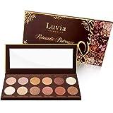 Luvia Lidschatten Palette Matt, Schimmer & Glitzer - Romantic Baroque Make-Up - Inkl. 12 romantischen Farben der Epochen - Limitierte Geschenkbox