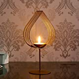 Webelkart Decorative Golden Eye Wall Sconce Candle Holder with Beautiful Glass for Home Decoration, for Home Room…