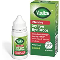 Vizulize Intensive Dry Eye Drop 10ml for Intensive and Longer Lasting Relief