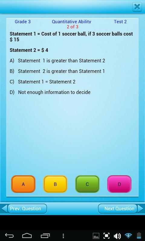 Kostenlose QVprep Lite 3. Klasse Mathe (quantitativ) und Englisch ...