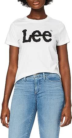 Lee Logo Tee T-Shirt Donna