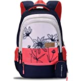 Lavie Sport Lily 40 Ltrs Stylish Backpack   School College bag for girls (Navy)
