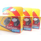 Kodak Fun Flash Disposable Camera - 39 Exposures 3 Pack