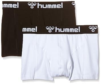 71adbd49faf Hummel His Pack of 2 Men's Boxers Multi-Coloured black / white Size:S
