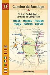 Camino de Santiago Maps: St. Jean Pied de Port - Santiago de Compostela (Camino Guides) (Dutch Edition) Kindle Edition